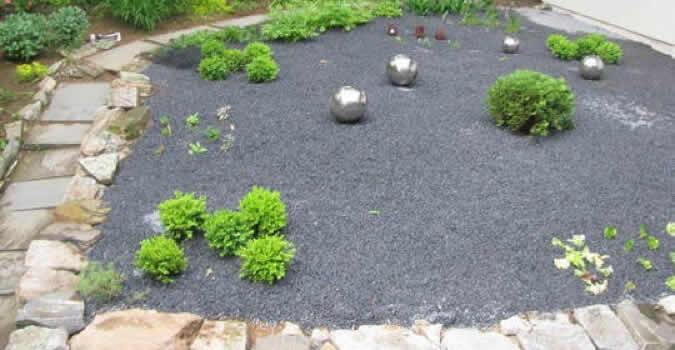 Pea Gravel - Greenville, NC | Chop Chop Landscaping