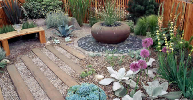 backyard landscape design - Pea Gravel - Greenville, NC Chop Chop Landscaping - Greenville, NC